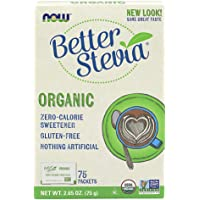 Now Foods Certified Organic, Better Stevia, 75g
