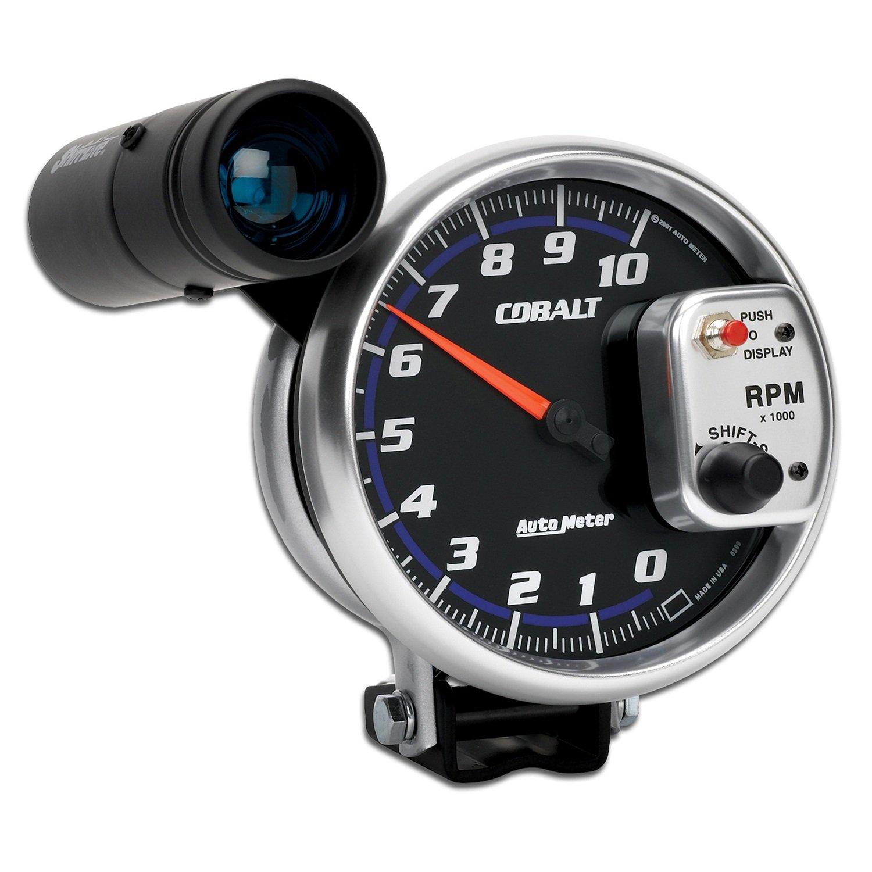 Amazon.com: Auto Meter 6299 Cobalt Pedestal Mount Tachometer Gauge ...