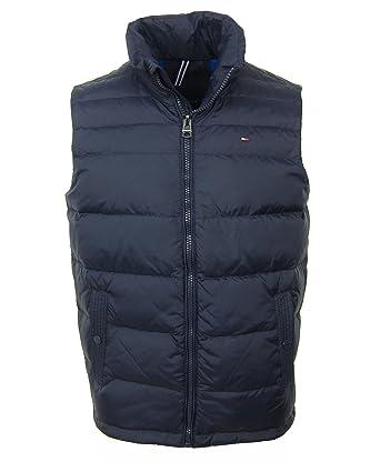 6a0ea99e1f9ad Tommy Hilfiger - Manteau sans Manche - Doudoune - Homme - Bleu - Small