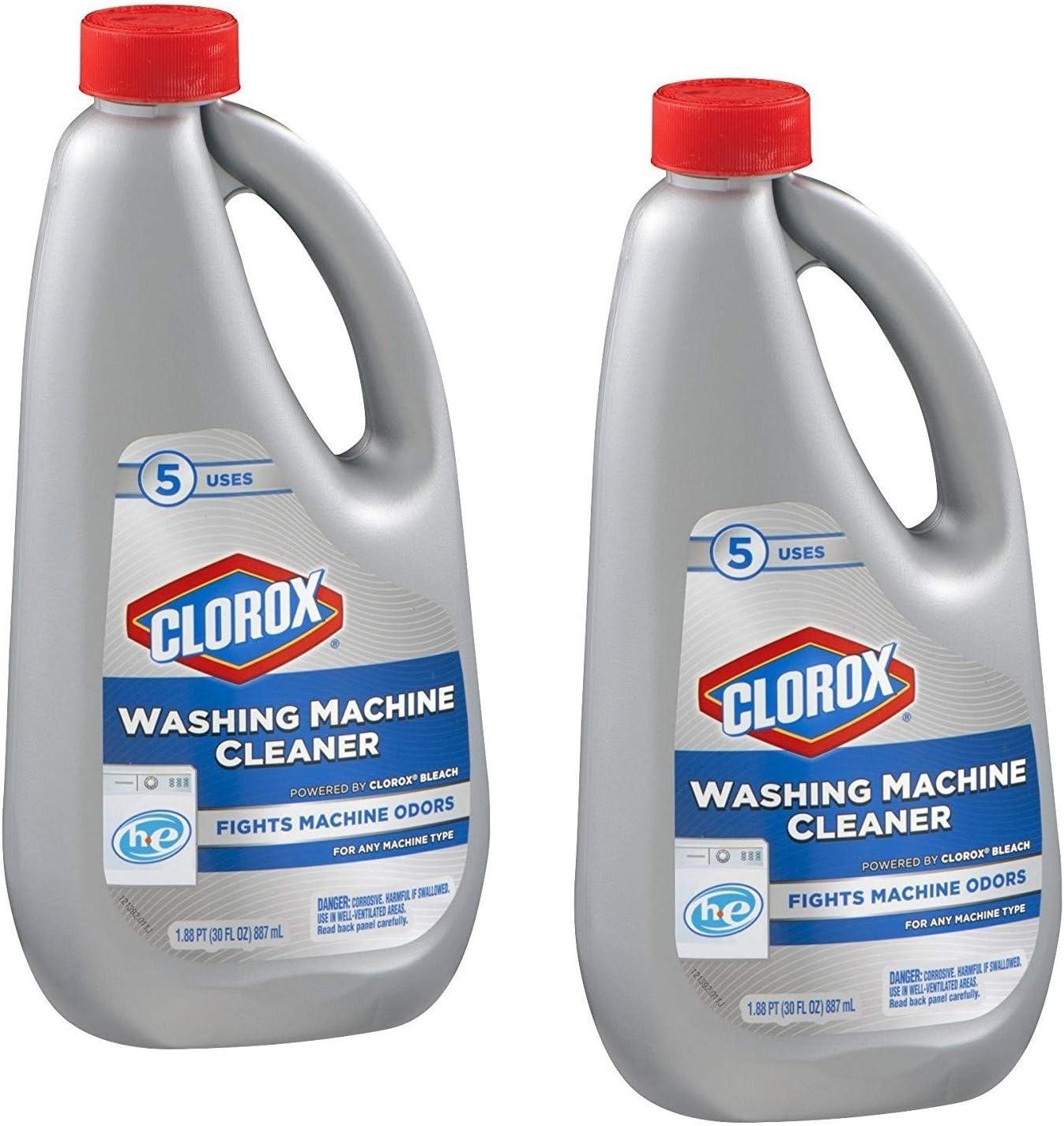 Amazon.com: Clorox - Limpiador para lavadora, VAR, 2: Health ...