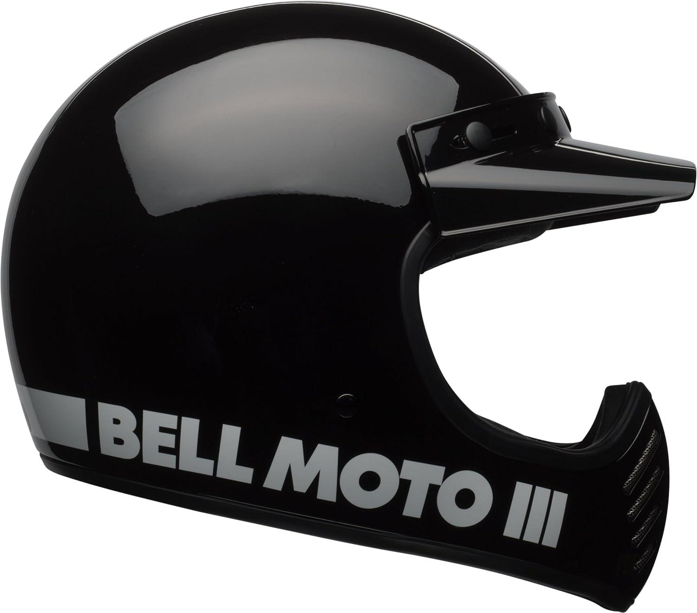 Amazon.com: Bell Moto-3 Off-Road Motorcycle Helmet (Classic Gloss Black, XX-Large): Automotive