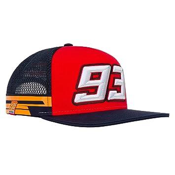 2019 Marc Marquez # 93 Official Flatbrim Trucker Cap Repsol Honda ...