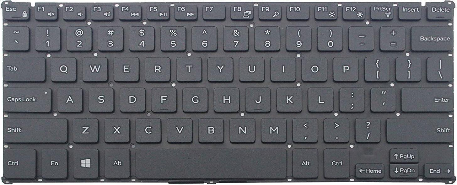 Original New for Dell Inspiron 11 3162 3164 US English Black Keyboard