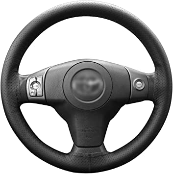 VRGT Car Steering Wheel Cover,Doraemon Story of Seasons Guide Design Steering Wheels Covers,Elastic Breathable Anti-Slip Odorless Covers Protector for Men Women 15 inch