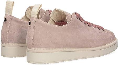 Panchic P01 - Zapatos de Mujer Originales de Ante Rosa - P01W14001S4A00411-BROWNROSE