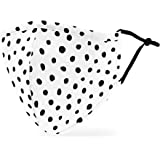 Weddingstar Washable Cloth Face Mask Reusable and Adjustable Protective Fabric Face Cover w/Dust Filter Pocket…