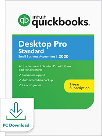 Best All In One Computer 2020.Quickbooks Desktop Pro Standard 2020 Accounting Software For Small Business Pc Download