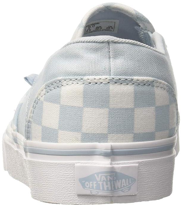 Asher Vans Cordones Classic Mujer Sin Para Zapatillas Checkerboard q77rpd