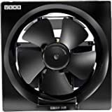 Usha Crisp Air 200mm Ventilating Fan (Black)