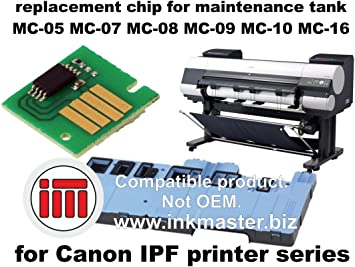 Ink Master - Replacement chip for maintenance tank CANON IPF MC ...