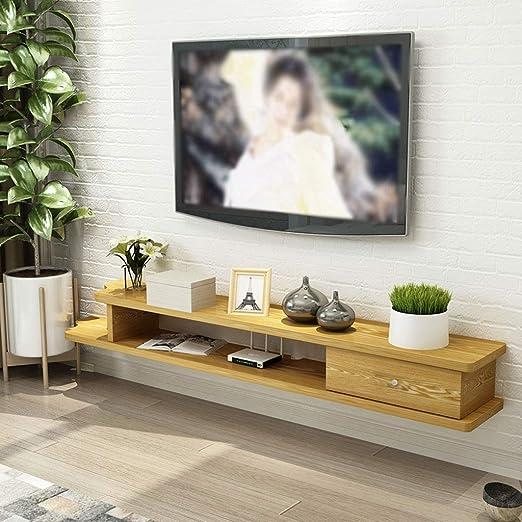 LBYMYB Estante de Pared Mueble de TV montado en la Pared Estante ...