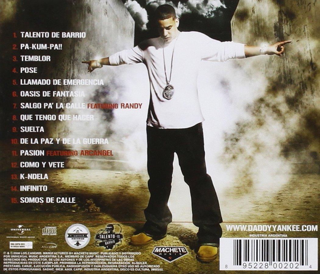 Daddy Yankee Talento De Barrio Music