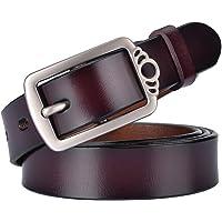 MRACSIY Cinturón De Hebilla Para Mujer Cinturón Antiguo Casual longitud 115cm