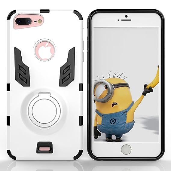 pretty nice 0cdb7 33075 Amazon.com: iPhone 7 Plus Ring Holder Case, iPhone 7 Plus Finger ...