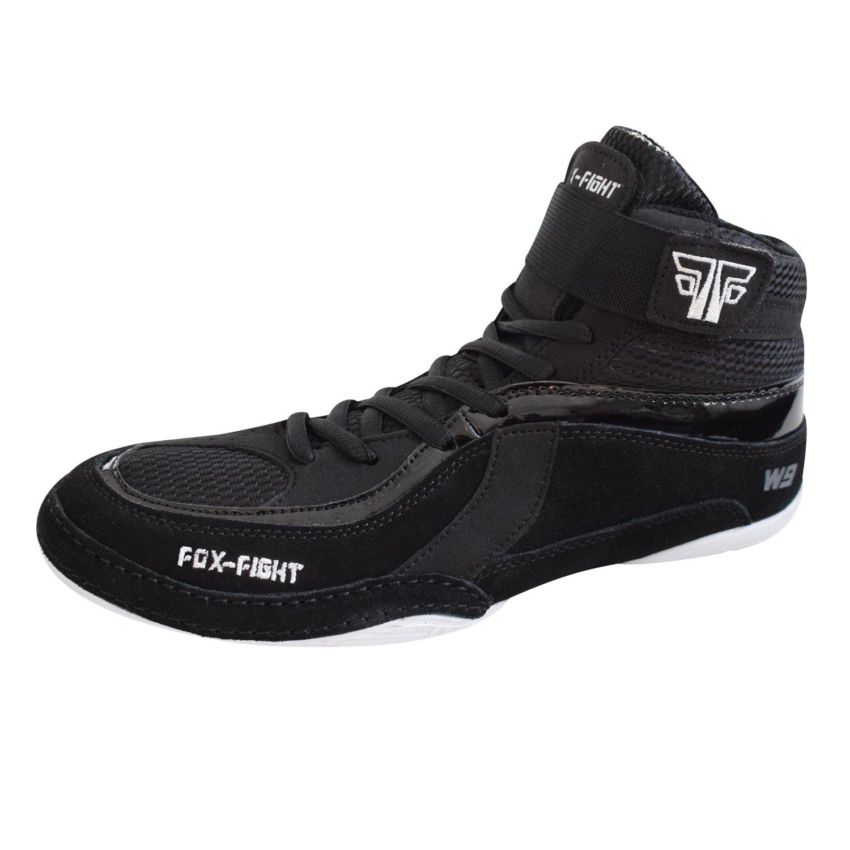 FOX-FIGHT W9Ringer sénégalaise Chaussures de wildleder professionnelle haute qualité