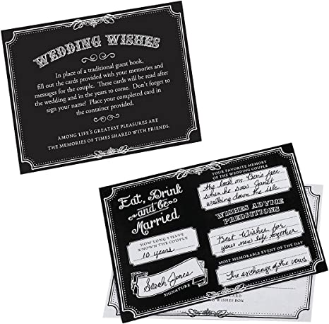 NEW! LILLIAN ROSE Wedding Wishes 48 cards GA501 T