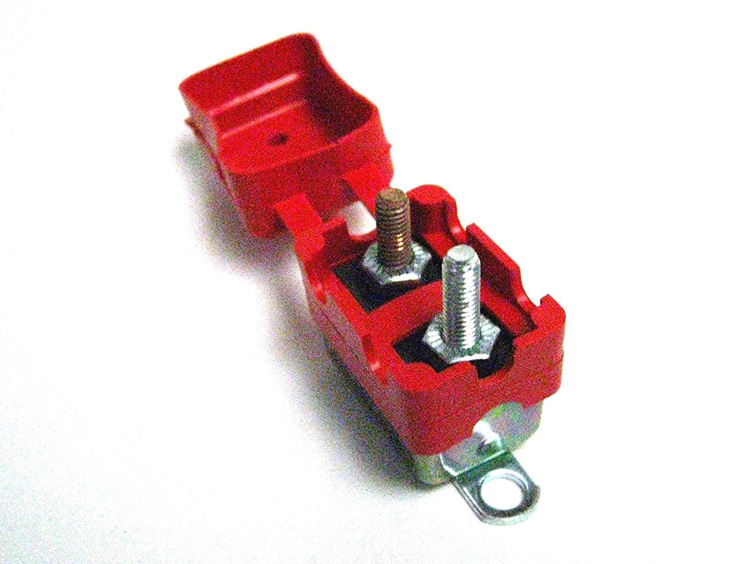 Vulcan Shortstop Circuit Breaker 25 AMP 12V Automatic Reset with Protective Red Boot Vulcan Auto Components CECOMINOD023704