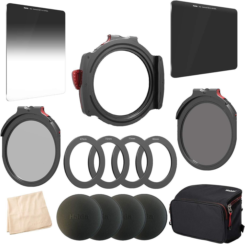 Haida M10 Christmas Kit M10 Filterhalter 67 72 77 82 Kamera