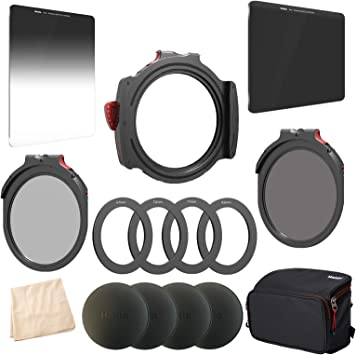 Red Diamond 100mm ND 3.0 and 100mm Soft Edge 0.9 Grad Drop in CPL 82mm Adapters with caps Haida M10 Christmas Kit M10 Filter Holder 72 Bonus Drop-in NanoPro ND1.8 Filter 67 77 M10 Filter Bag