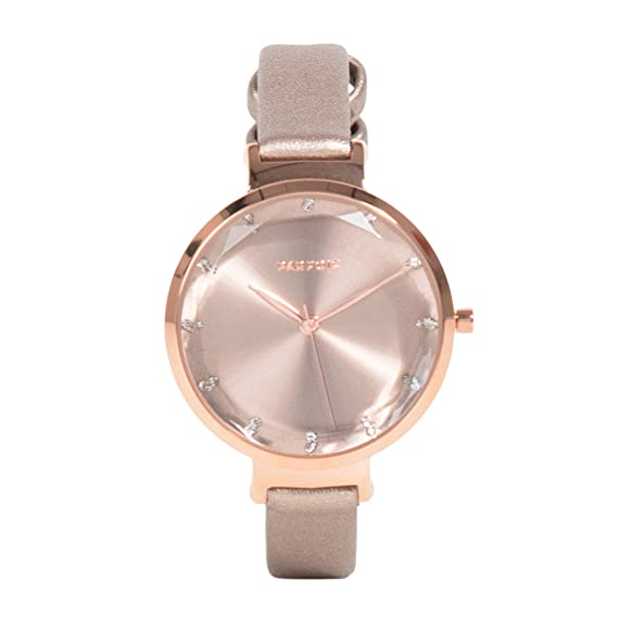 Parfois - Reloj Rose Gold Tray - Mujeres - Tallas Única - Dorado