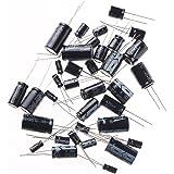 Condensateurs électrolytiques assortis Kit Assortiment Septembre de WLM 25 valeur