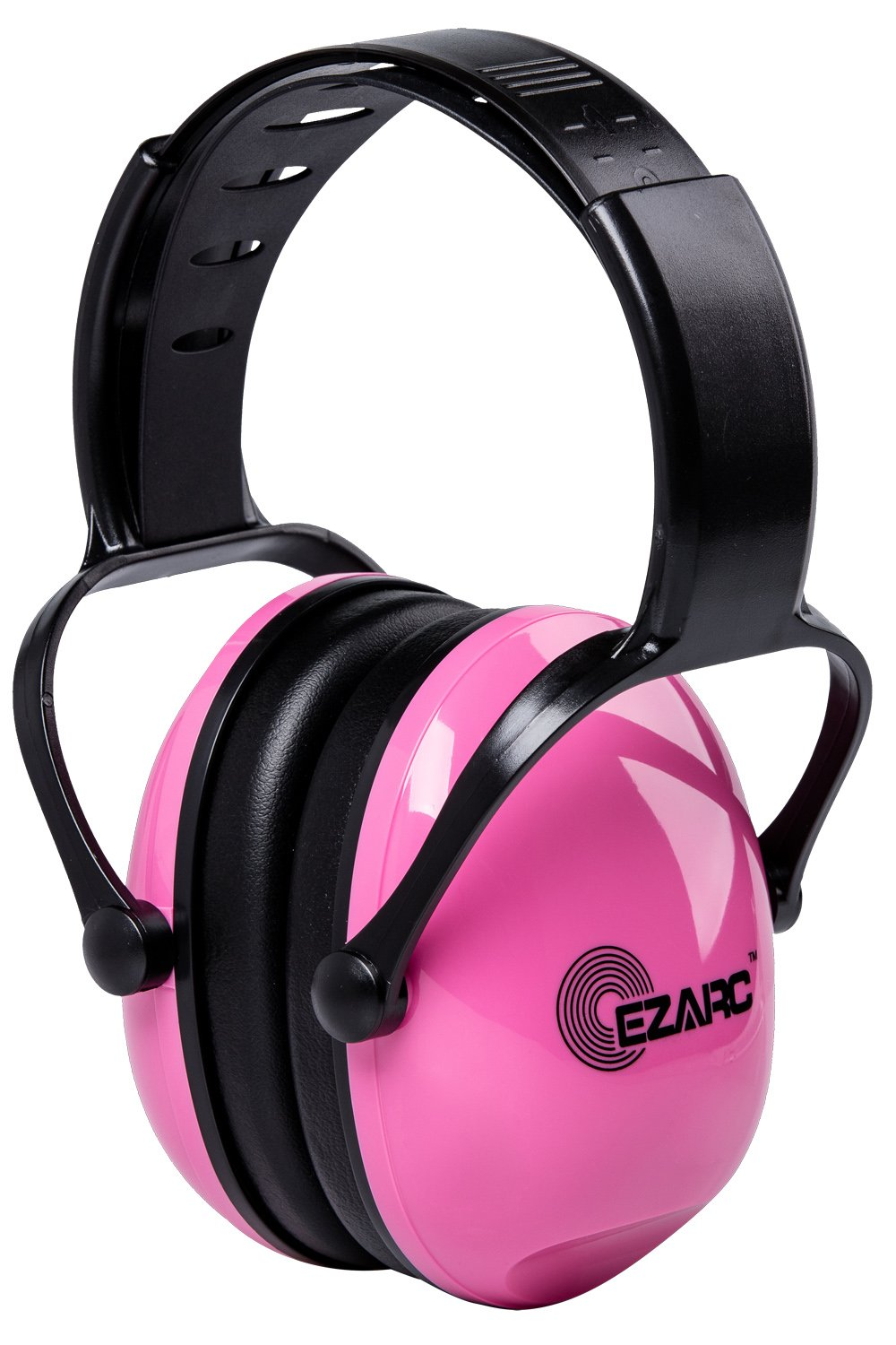 EZARC Comfortable Women and Kids Safety Ear Muffs 30dB for Hearing Protection - Noise Reduction Earmuffs for Shooting Sports Events Reading, Pink