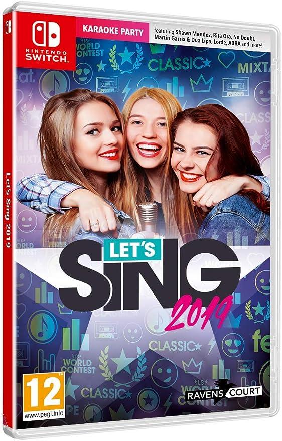 Lets Sing 2019 + 1 Microphone - Nintendo Switch [Importación ...