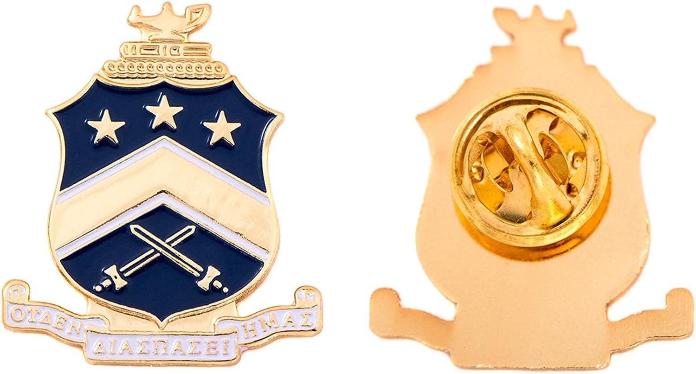 Desert Cactus Pi Kappa Phi Fraternity Lapel Enamel Greek Formal Wear Blazer Jacket Pi Kapp (Crest Pin)
