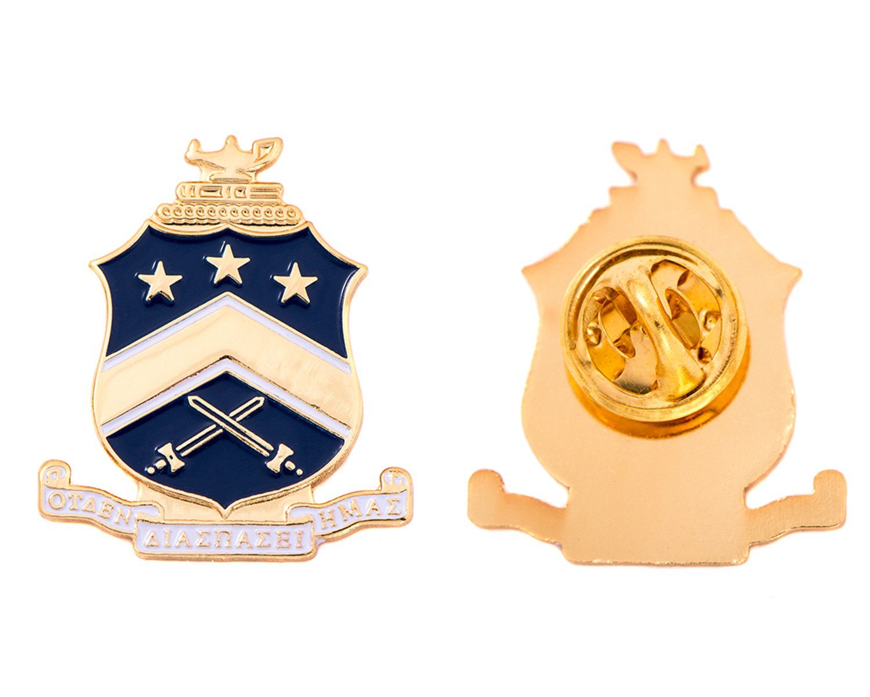 Desert Cactus Pi Kappa Phi Fraternity Crest Lapel Pin Enamel Greek Formal Wear Blazer Jacket Pi Kapp