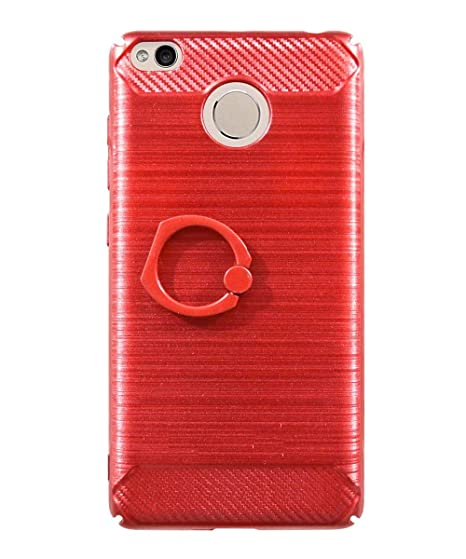 outlet store 54437 b2524 COVERNEW Metal Ring Stand Back Cover for Mi Redmi 4: Amazon.in ...