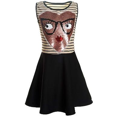 b3dcb05a574 BEZLIT BEZLIT Mädchen Kleid Wende Pallietten 21437 Kleider  Amazon.de   Bekleidung