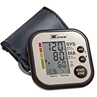Zewa Upper Arm Blood Pressure Monitor with Two User Mode (120 Reading Memory) and...