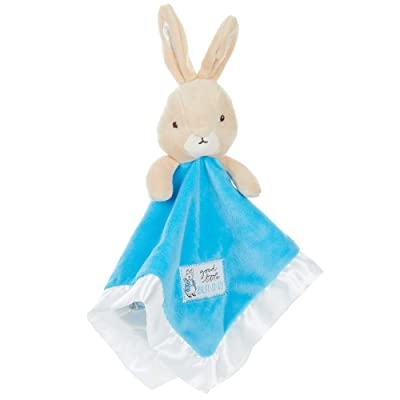 KIDS PREFERRED Peter Rabbit Plush Stuffed Animal Snuggler Blanket: Toys & Games