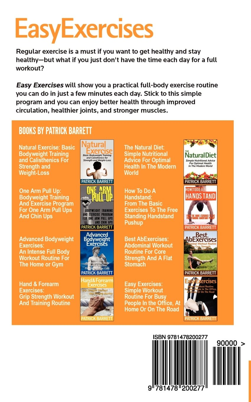 Easy Exercises: Simple Workout Routine For Busy People In