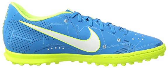 Amazon.com | Nike Mens Mercurial X Vortex Iii Neymar Tf 921519 Footbal Shoes, Turquoise White/Blue Orbit/Armory Navy Volt, 7 UK | Soccer