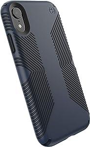Speck Products Presidio Grip iPhone XR Case, Eclipse Blue/Carbon Black