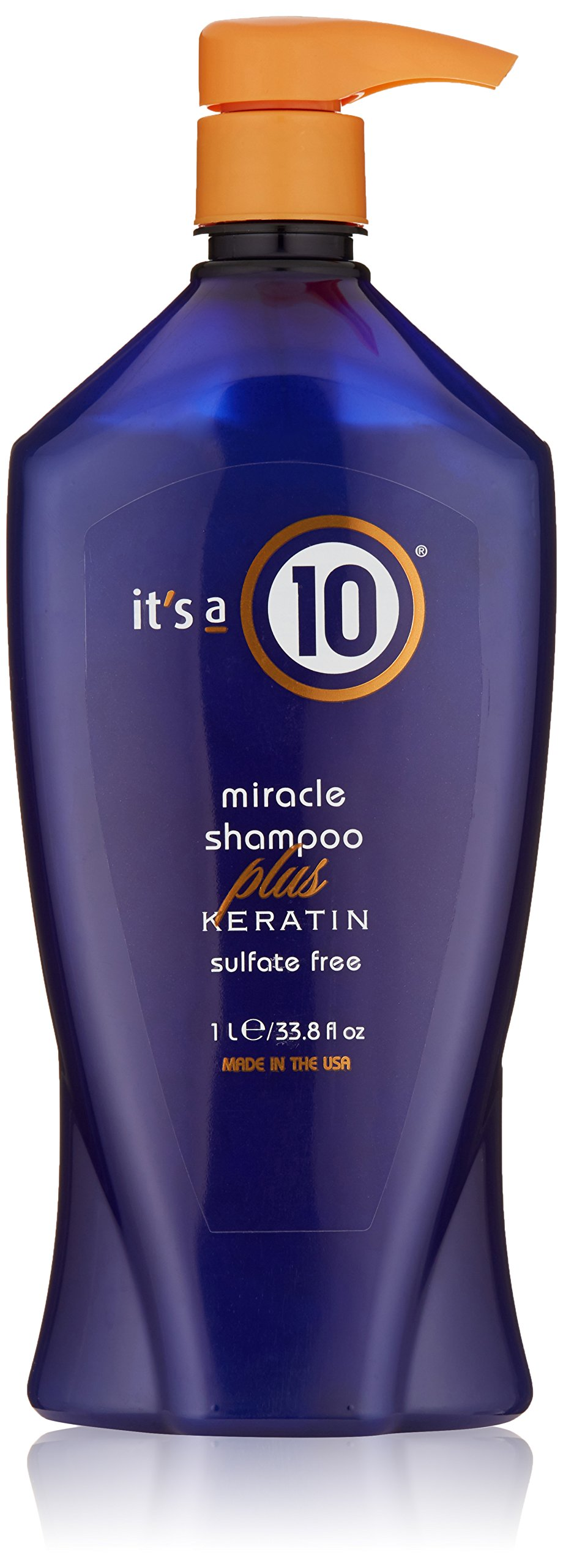 It's a 10 Haircare Miracle Shampoo Plus Keratin Sulfate Free, 33.80 fl. oz.