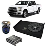 """Bbox A341-10CP Single 10/"""" Subwoofer Enclosure for Select 2009-Up Ford F-150"""