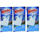 WINDEX OUTDOOR ALL IN ONE PADS REFILL 2 CT 3 Pack