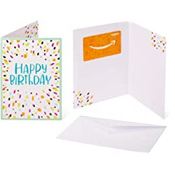Gift Card in a Greeting Card (Birthday Confetti design) link image