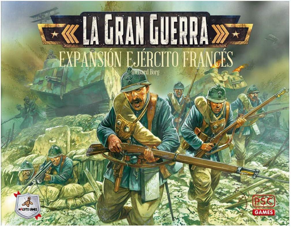 Maldito Games La Gran Guerra: Ejercito Frances - Expansión Juego de Mesa Castellano: Amazon.es: Juguetes y juegos