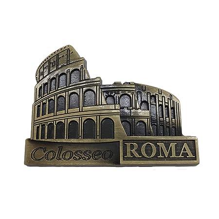 3D Coliseo Roma Frigorífico Imán de Nevera Roma Souvenirs ...