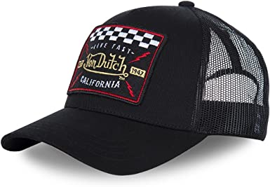 Gorra Curva Von Dutch Blacky4 Trucker Black: Amazon.es: Ropa y ...