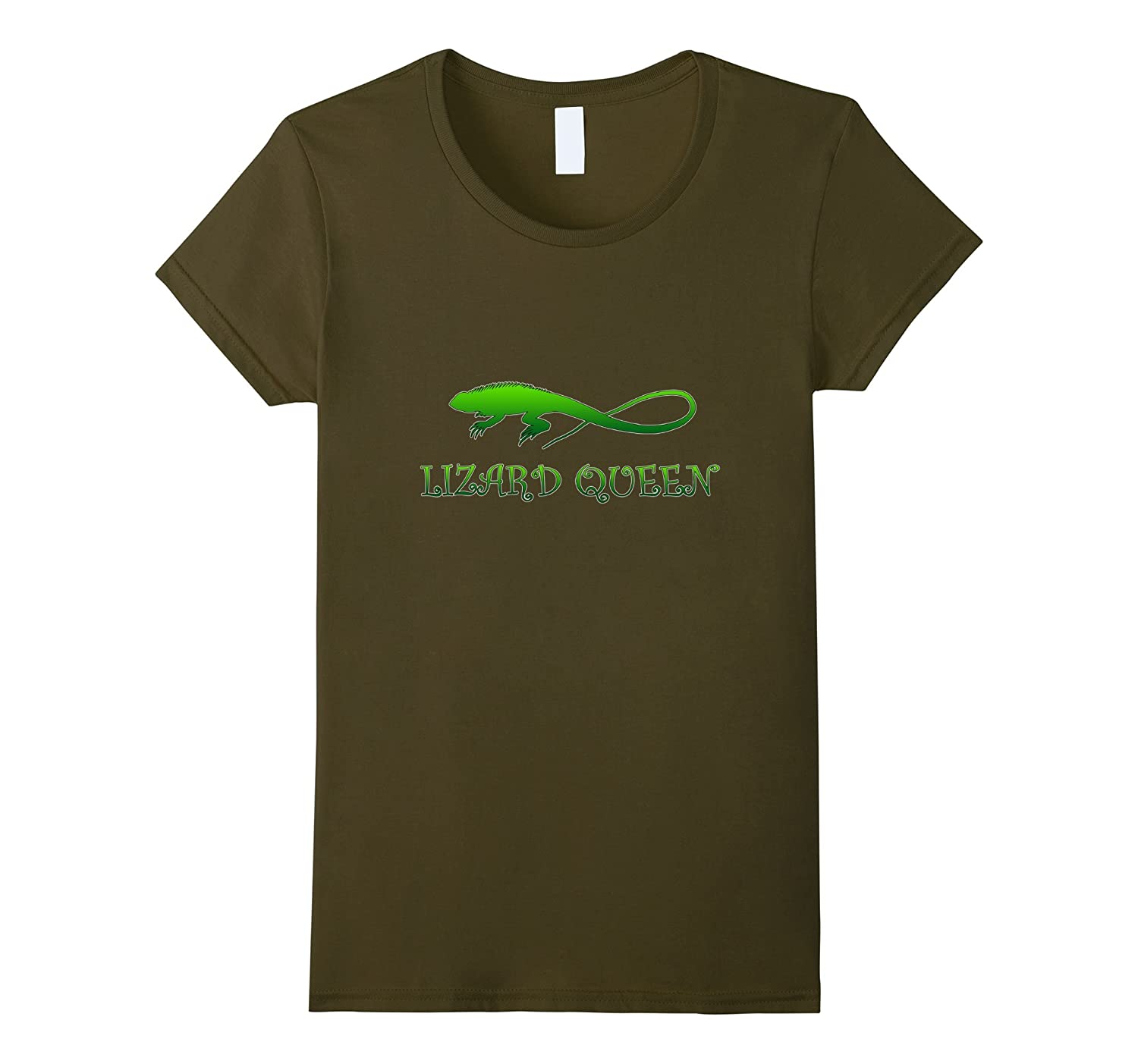Lizard Queen Funny Pet T-Shirt