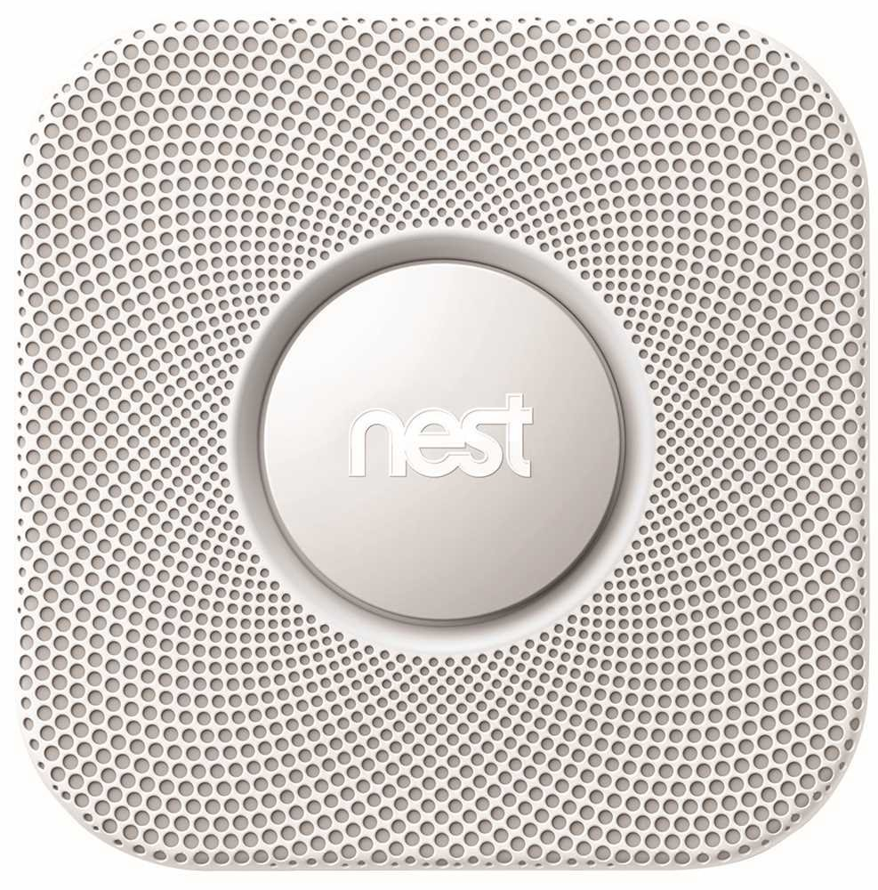Nest Protect Smoke & Carbon Monoxide Alarm, Wired (2nd Gen) by Nest