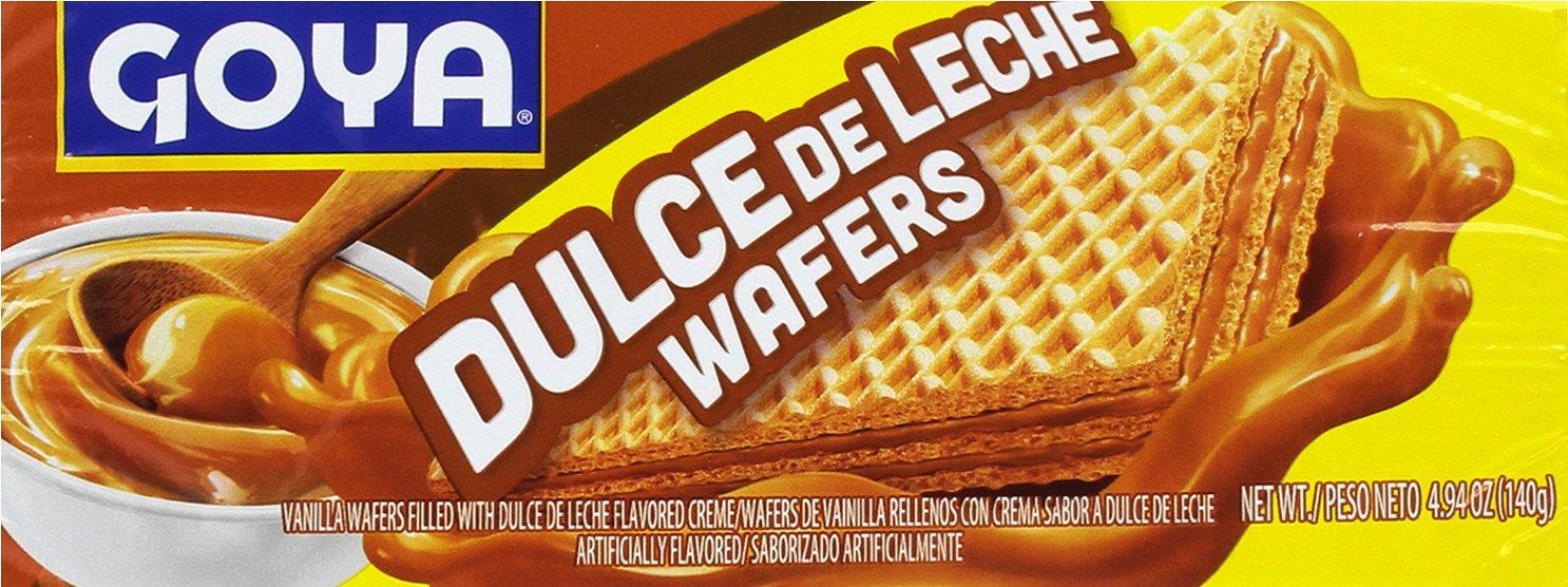 Goya Galletas Wafer Dulce de Leche - Paquete de 24 unidades: Amazon.es: Alimentación y bebidas