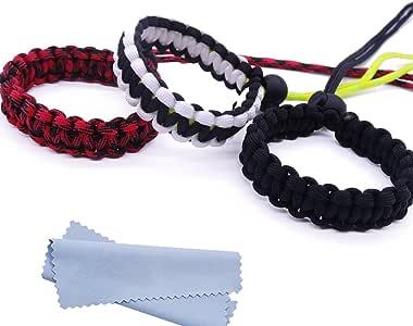 Braided   Adjustable Camera Wrist Strap Bracelet Travel Backpacking