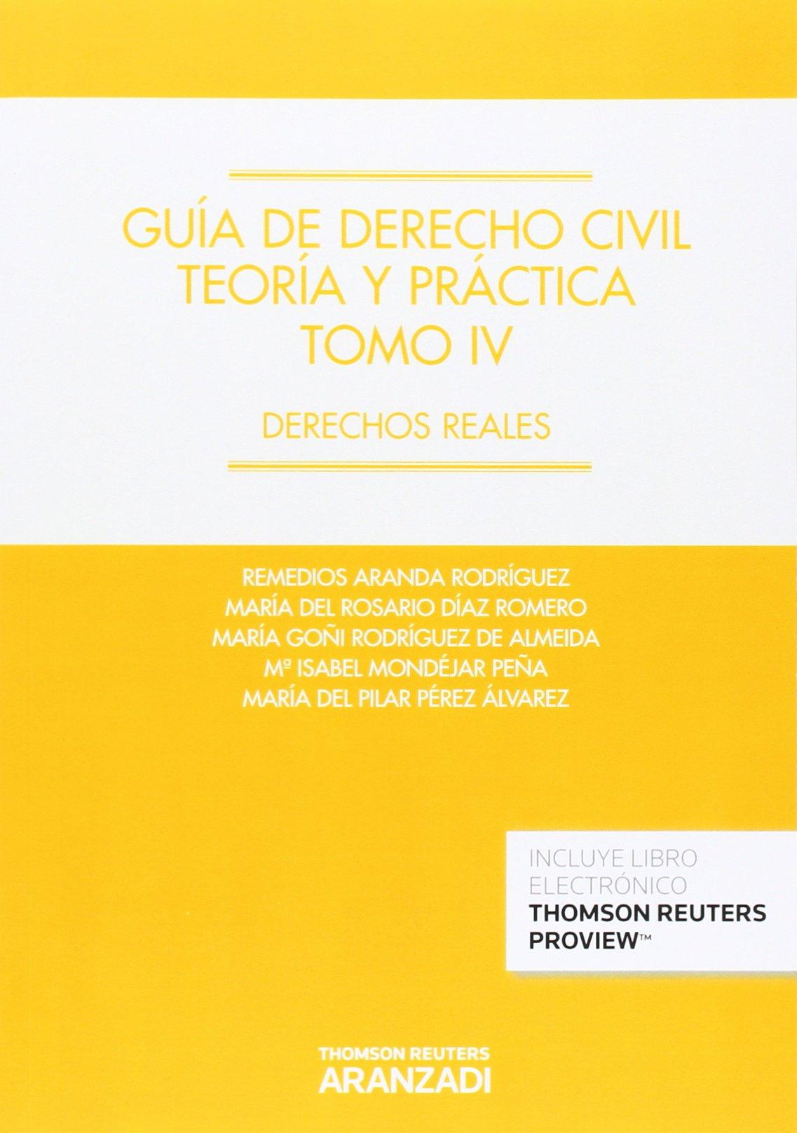 Guía de Derecho Civil. Teoría y práctica Tomo IV Papel + e-book ...