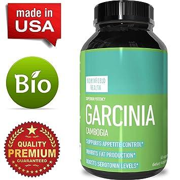 Northfield Health Best Garcinia Cambogia 95 Hca Weight Loss Vitamins Fast Acting Fat Burn
