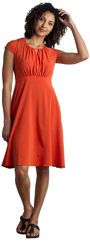 76fbf52ac1 Amazon.com: ExOfficio Women's Kizmet Cross-Front Short-Sleeve Dress: Sports  & Outdoors